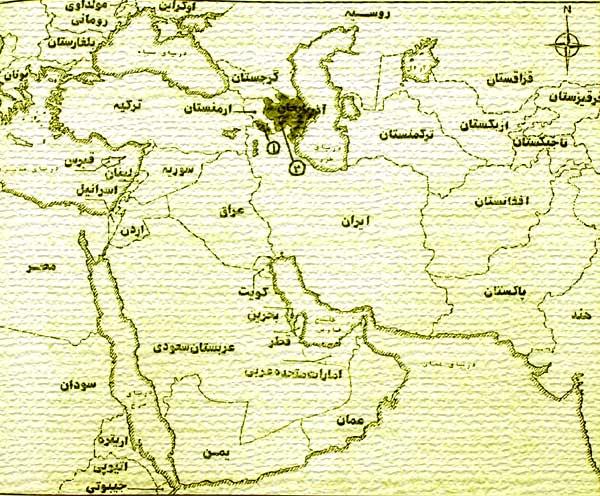 نقشه شماره 1